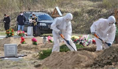 Смертность от COVID-19 в России достигла 317 человек за сутки