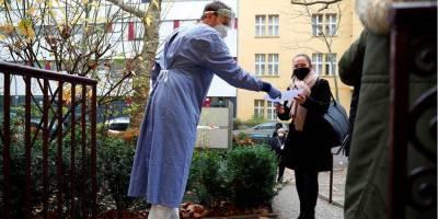 В Германии количество зафиксированных случаев COVID-19 превысило миллион