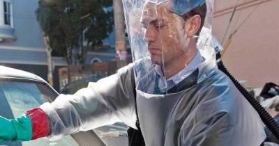 Джуд Лоу знал о возможности возникновения пандемии коронавирусс 2011 года