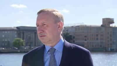 Большое интервью губернатора Петербурга: коронавирус, туризм, новое городское пространство