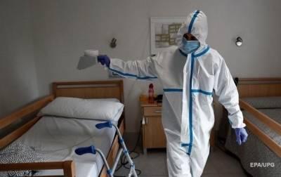 В Украине свободны 70% коек для больных коронавирусом