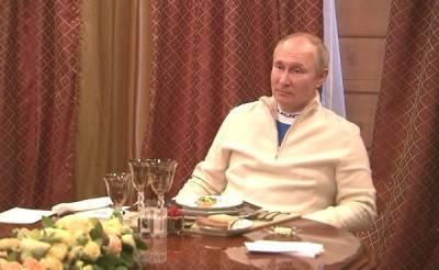 Путин пока не будет проводить очные встречи - Кремль