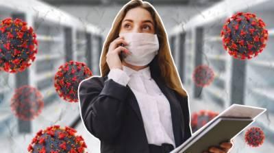 За сутки зафиксировали 22 574 новых случаев коронавируса