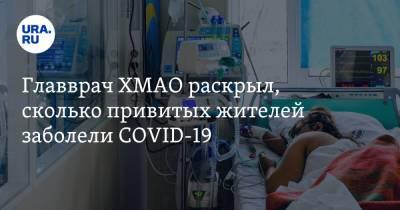 Главврач ХМАО раскрыл, сколько привитых жителей заболели COVID-19
