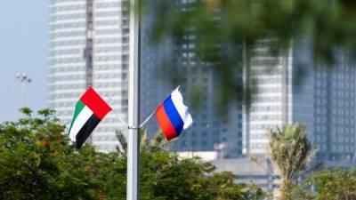 Товарооборот между Россией и ОАЭ достиг исторического максимума, несмотря на пандемию