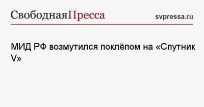 МИД РФ возмутился поклёпом на «Спутник V»