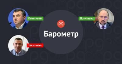 Бизнес-барометр. Кто бьет по рейтингу Владимира Зеленского 5 — 11 апреля