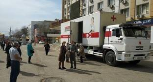 Жители Калмыкии оценили передвижные пункты вакцинации от COVID-19