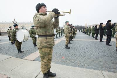 Первую сводную репетицию парада Победы провели в Петербурге