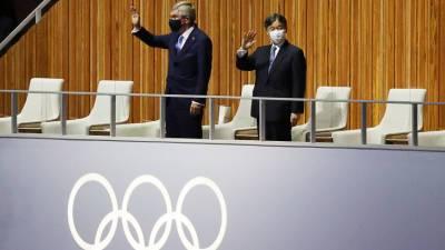 Император Японии Нарухито объявил открытыми летнюю Олимпиаду в Токио