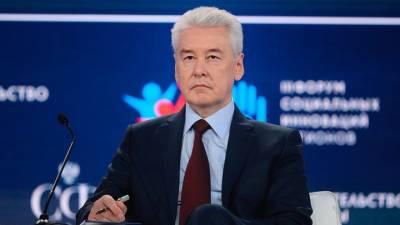 Сергей Собянин: Выявляемость COVID-19 в Москве снизилась почти на треть за неделю