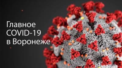 Воронеж. Коронавирус. 17 сентября 2021 года
